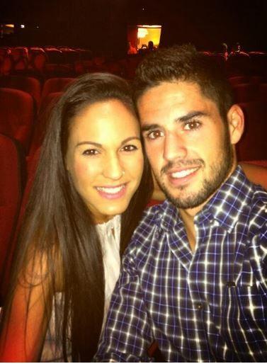 Isco Alarcon girlfriend Victoria Calderon