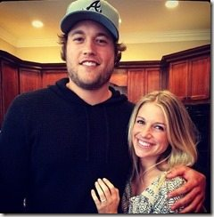 Kelly Hall Matthew Stafford girlfriend-pictures