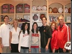 Kelly Ryan  Bo Ryan wife pic