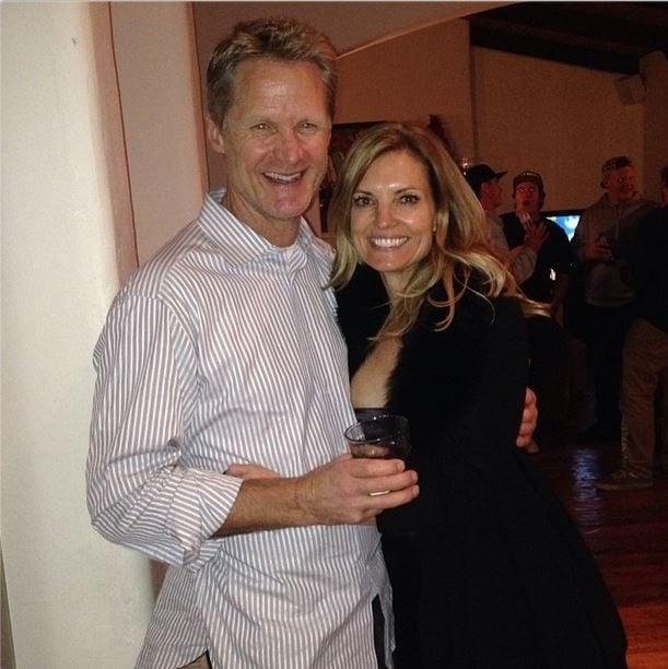 Steve Kerr with beautiful, Wife Margot Kerr