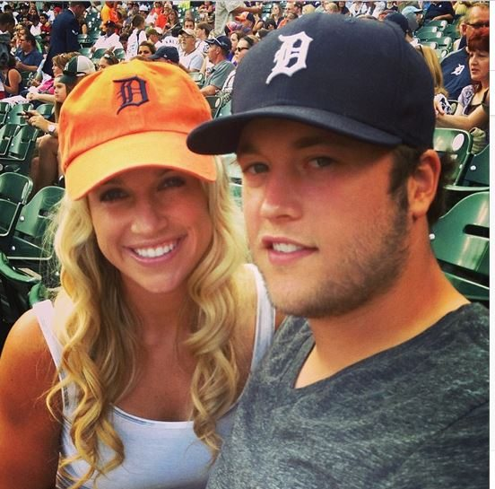 Kelly Stafford Qb Matthew Staffords Wife Bio Wiki