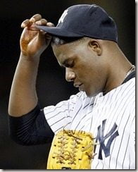 Michael Pineda pine tar on hand pic