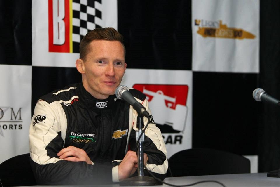 Who is Indy Car Racer Mike Conway's Girlfriend?