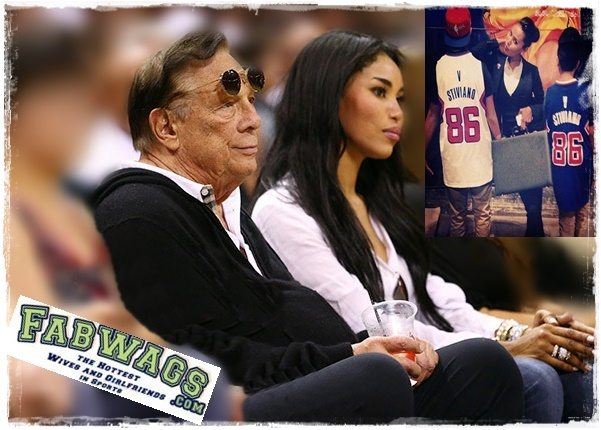 Ronald Sterling the owner of Los Angeles Clippers told his African American/ Latin girlfriend V. Stiviano  to stop bringing Black people to his gates, not to associate herself with them and the racist rants keep on, one of the many time Sterling has been caught in this disgraceful racial discrimination. #clippers #ronaldsterling #girlfriend #vstiviano #vanessaperez #vanessastiviano @fabwags