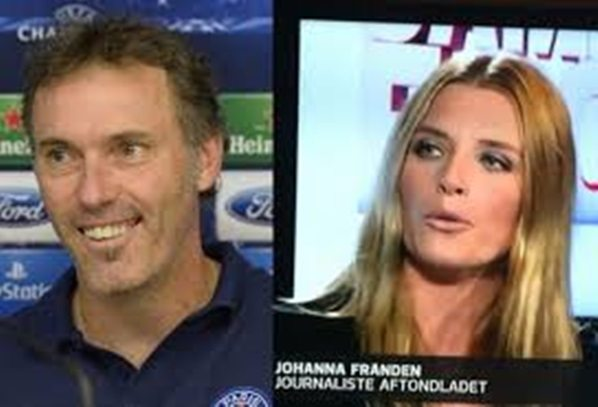 Anne Blan  PSG Manager Laurent Blanc s Wife 93fa99a541e