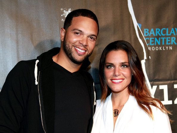 Deron Williams with beautiful, cute, Wife Amy Young Williams