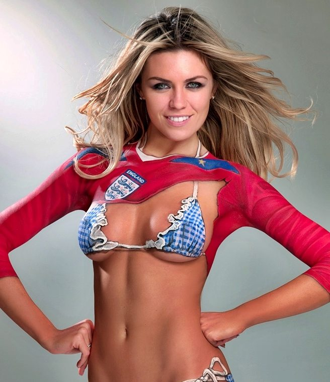 Sexiest England World Cup WAGs