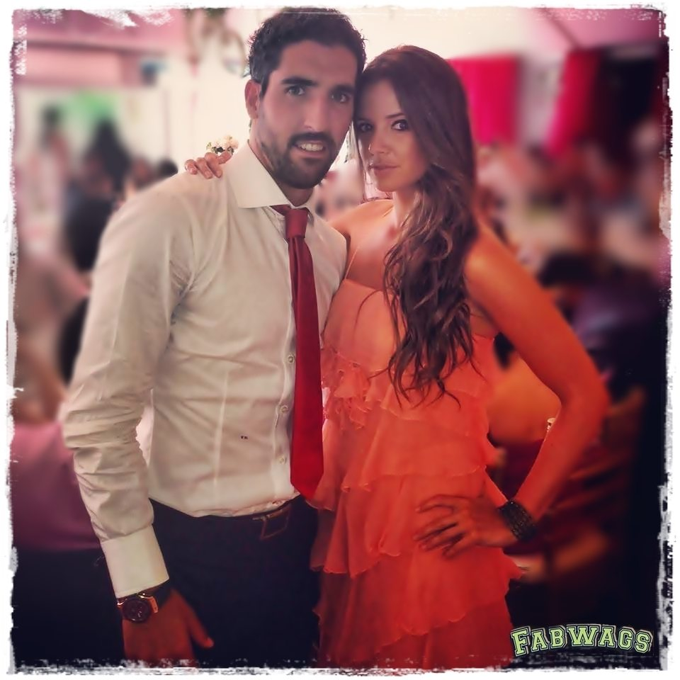 Ines sanchez atletico madrid player raul garcias girlfriend atletico madrid already won the copa del rey trophy and they are going to fight voltagebd Image collections