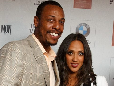 Julie Landrum Pierce NBA Paul Pierce's Wife