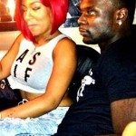 K Michelle Lance stephenson picture