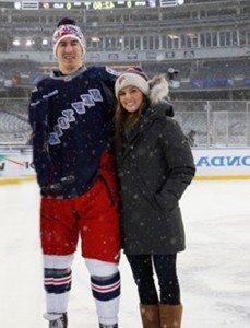 Kaylee Keys Ryan McDonaugh wife pic