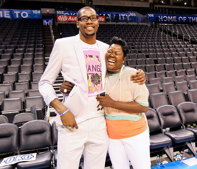 Wanda Pratt   NBA Player Kevin Durant's Mother