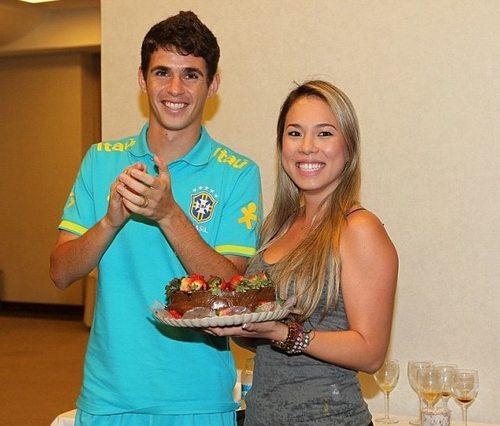 "Ludmila ""Ludy"" Emboaba - Brazilian Player Oscar's wife ..."