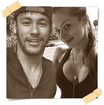 Neymar girlfriend 2014 Gabriella Lenzi picture