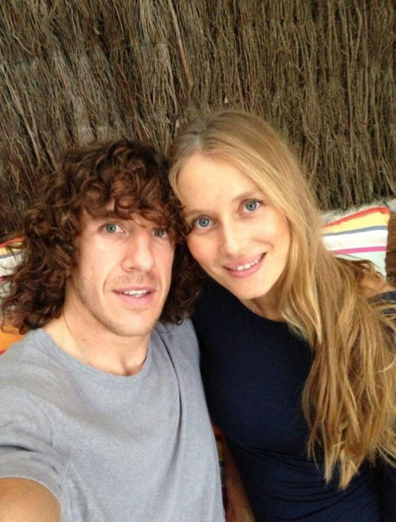 Vanesa Lorenzo - FC Barcelona Player Carles Puyol-s Hot ...