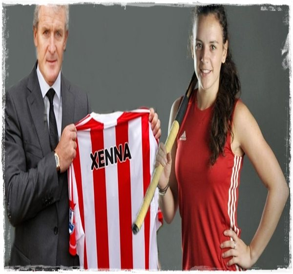 Xenna Hughes  – Welsh Soccer Manager Mark Hughes' Daugther