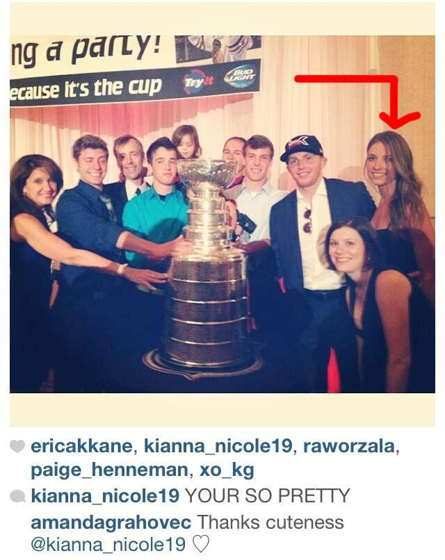 is patrick kane dating anyone
