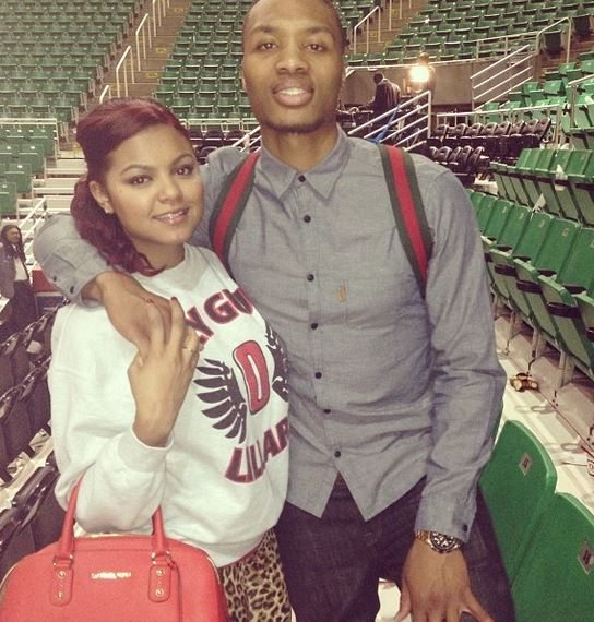 Kay La Hanson Nba Player Damian Lillard S Girlfriend Bio Wiki Photos