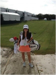 Meet Rachel Todd, this fab PGA Wag is the beautiful and loving wife of  Brendan Todd the PGA golfer who recently won his firs PGA title. Would you like to hear more about Mrs. Todd??  #brendontodd #racheltodd #pgatourwags #golfwags @fabwags