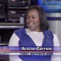 alicia gwynn mlb player tony gwynns wife bio wiki