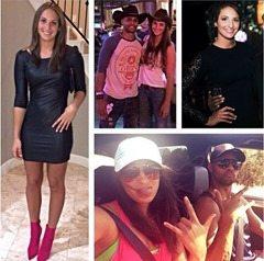 Alyssa Lavesque Patrick Patty Mills girlfriend picture
