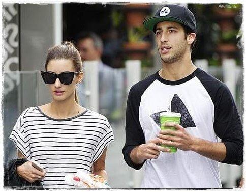 Daniel Ricciardo girlfriend Jemma Boskovich