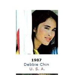 Debbie Chin model photo