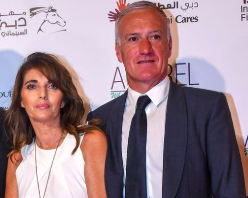 French Coach Didier Deschamps' Wife Claude Deschamps
