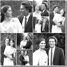 Diego Forlan Paz Cardoso civil ceremony