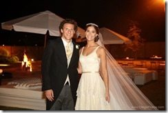 Diego Forlan Paz Cardoso wedding photo