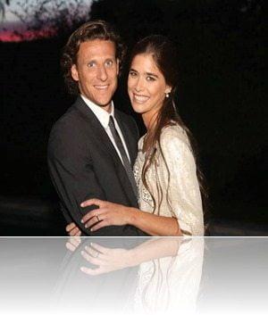 Diego Forlan wife Paz Cardoso