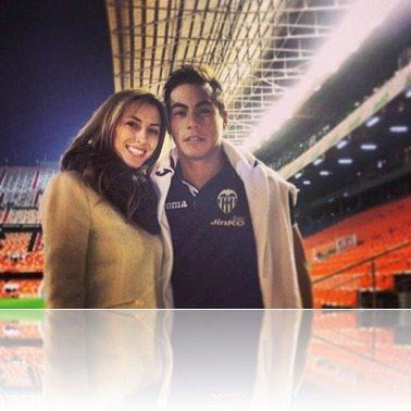 Eduardo Vargas girlfriend daniela Colett