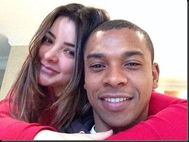 Fernandinho girlfriend rosa