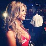 Kristie McKeon UFC octagon Girl photos