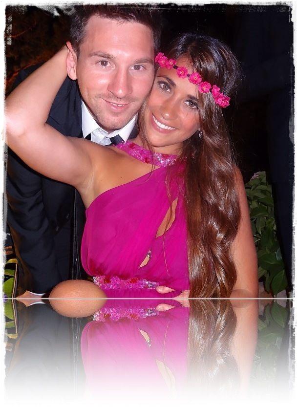 Antonella Roccuzzo  Lionel Messi's Wife