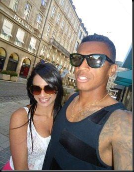 Luiz Gustavo girlfriend Milene Max pics