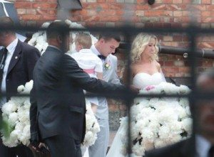 Lukas Podolski Monika Puchalsi wedding