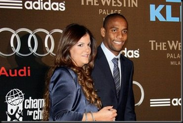 Maicon wife Simone