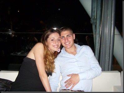 Marco Verratti girlfriend Laura Zazzara