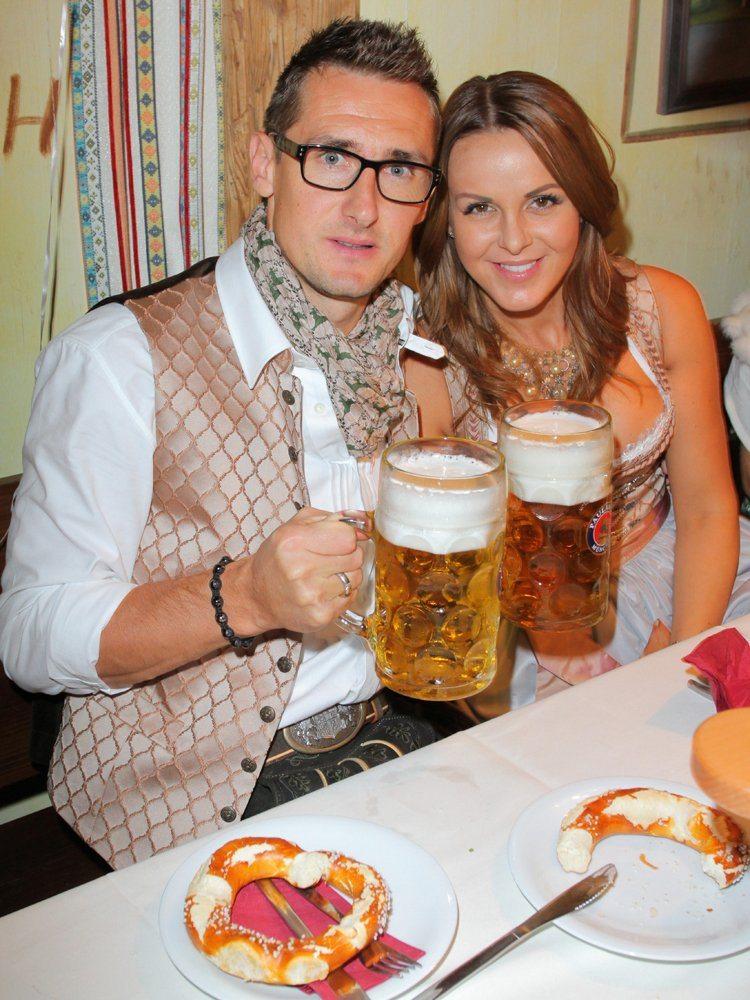 Miroslav klse wife Sylwia Klose