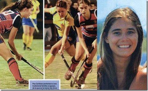 Paz Cardoso hockey
