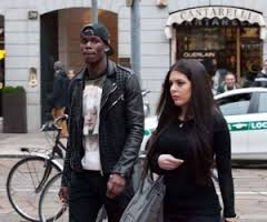 Paul Pogba, the French midfielder with the National team  who currently plays with  Juventus has been spotted in the company of a curvy brunette, many have wonder who is that girl, is pretty obvious she is Pogba's new  gal, what is her name? #paulpogba#girlfriend #francewags @fabwags
