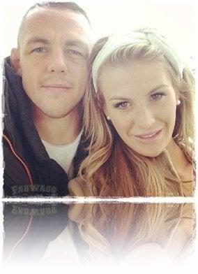 Ross Pearson girlfriend Kristie McKeon-pic