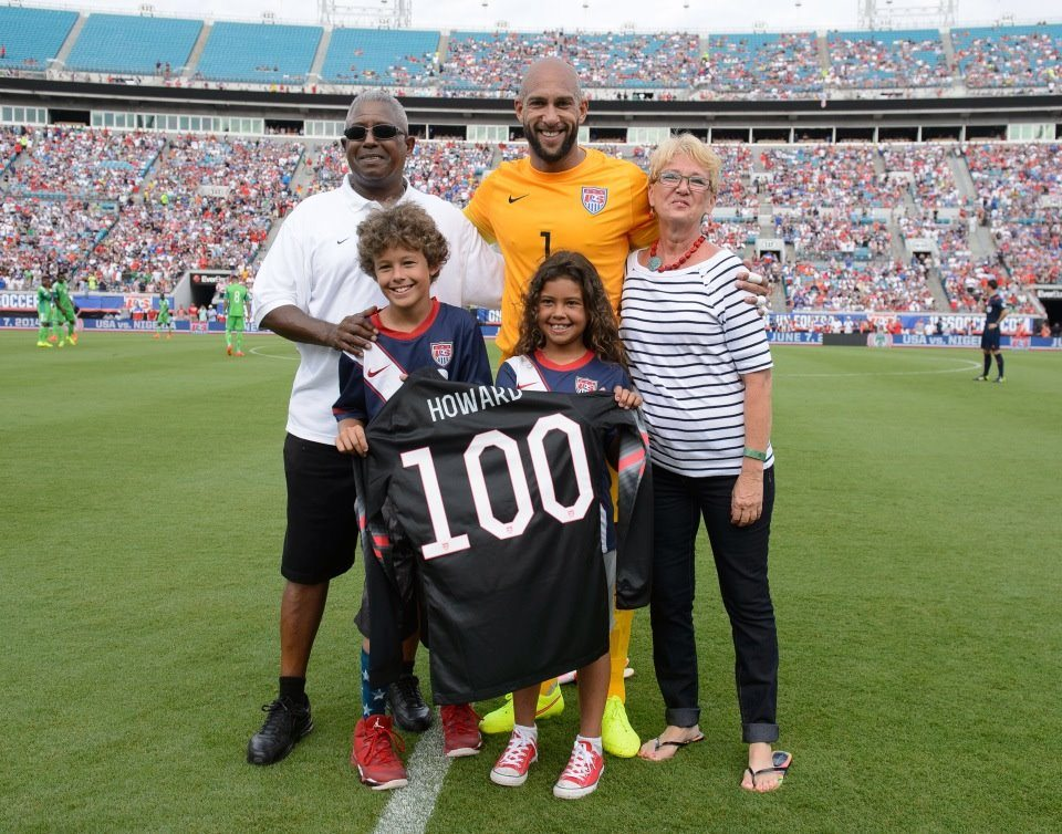 Photo of Tim Howard & his  Daughter  Alivia Howard