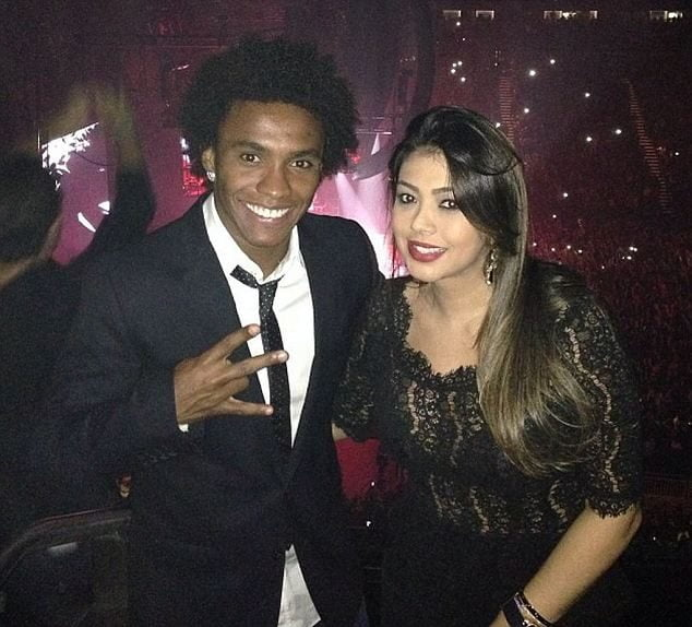 Vanessa Martins - Willian Borges da Silva's Wife