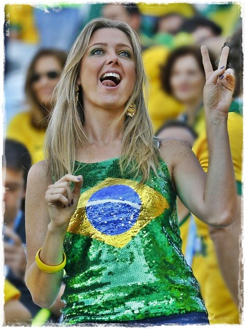 Brazil Wold Cup WAGs!!