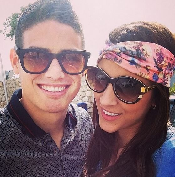 James rodriguez married daniela ospina colombian soccer player james