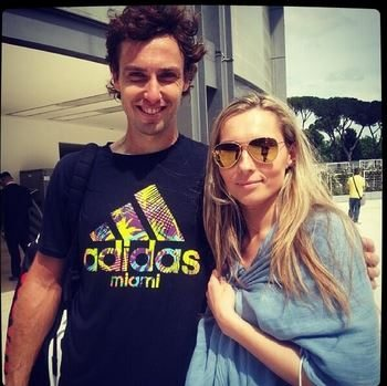 Who is Latvian Tennis player Ernests Gulbis' Girlfriend?