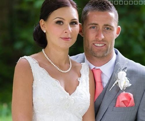 Gary Cahill with beautiful, Wife Gemma Acton