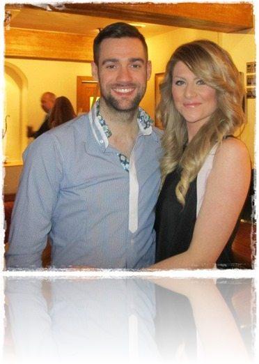 Chris Pritchard girlfriend Amanda Ball